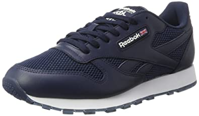19d7cf10587 Reebok Unisex Adults  Classic Leather NM Trainers