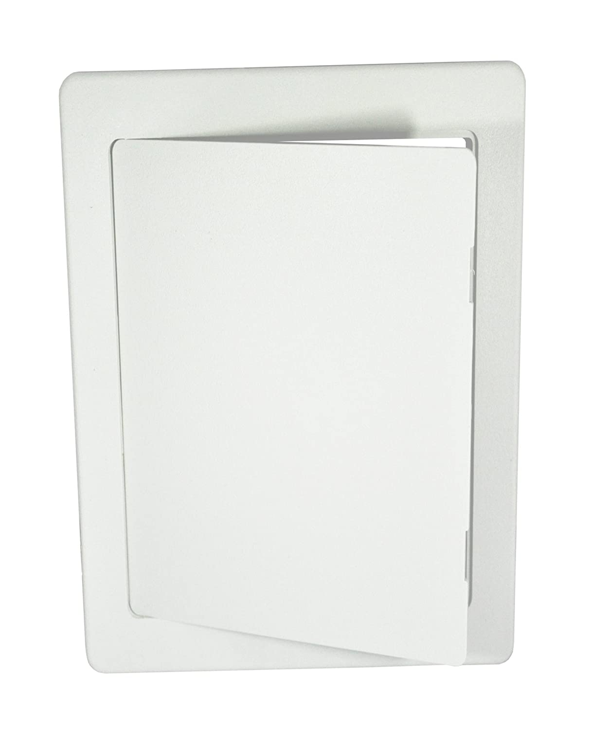 Surface Fit White ABS Plastic Access Panel / Inpsection Hatch 150mm x 100mm (6\' x 4\') - Hide: taps, valves, wiring, meters etc.... Hardware Master