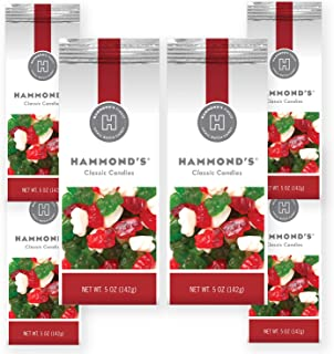 product image for Hammond's Candies - Gummy Bear Candies - 6 - 5 Ounce Bags - Handcrafted in the USA