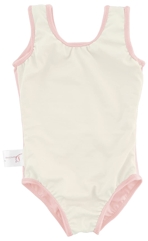 Dancina Leotard Tank Top Ballet Gymnastics Front Lined Comfy Cotton Ages 2-10