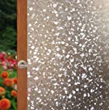 Arthome Película Decorativa de Vidrio,45CM x 254CM,Sin Pegamento Vinilo Pegatina de Ventanas,Proteger La Privacidad…