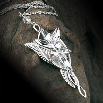 The lord of the rings elf queen arwen evenstar pendant necklace the lord of the rings elf queen arwen evenstar pendant necklacenecklace for women christmas aloadofball Image collections