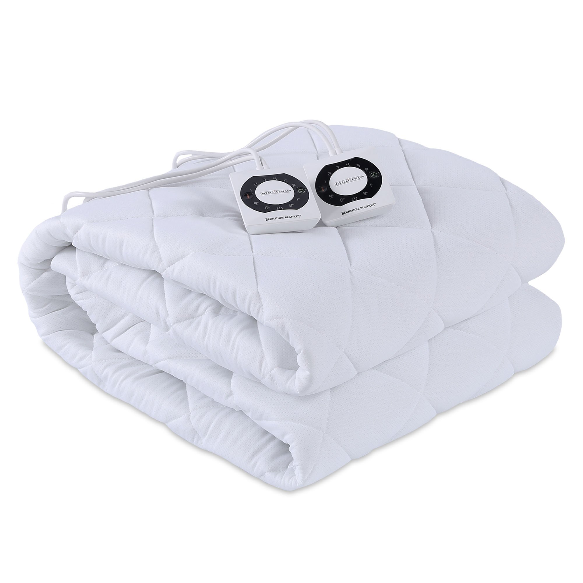 Berkshire Blanket Breathable Mesh Heated Mattress Pad with Intellisense, Full by Berkshire Blanket