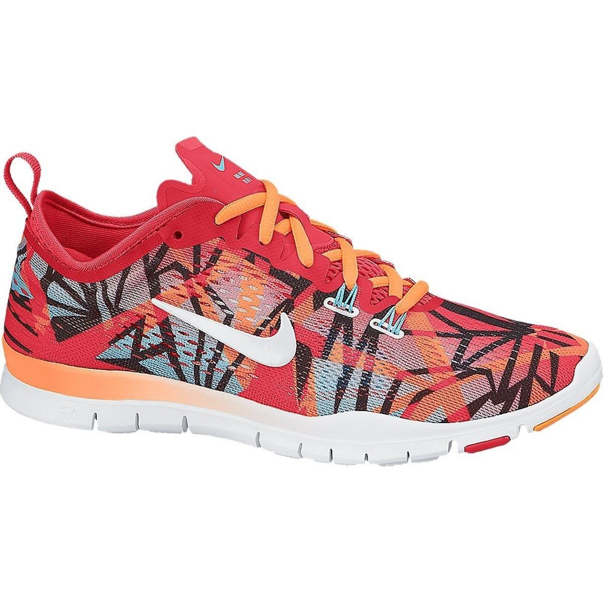 Nike Schuhe Damen Damen Free 5.0 tr fit 4 prt Grnm Weiß-plrzd bl-atmc orng