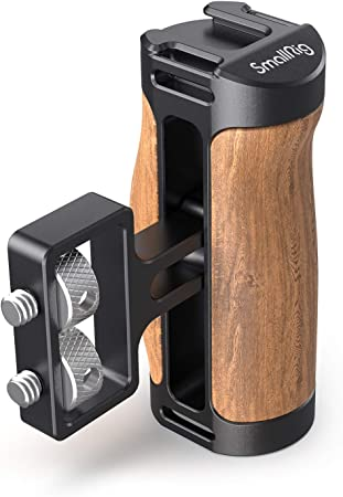 Smallrig Mini Seitengriff Aus Holz Für Kamera Cage Kamera