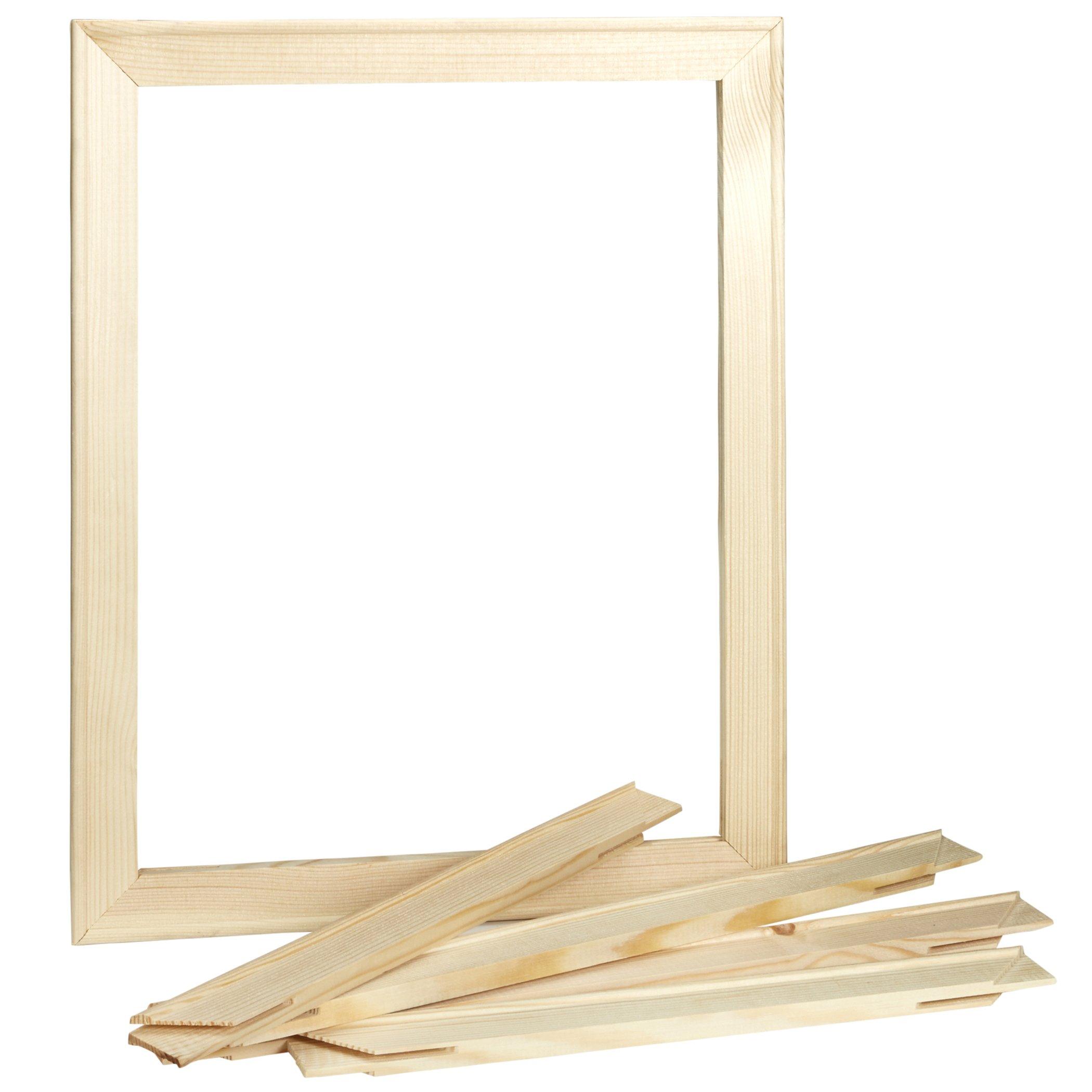 Artlicious - 4 Piece - 16x20 Stretched Canvas Stretcher Bar Strip ...
