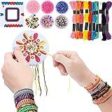 7TECH Premium Friendship Bracelet Maker 2 Packs Jewelry Kit- Deep Color
