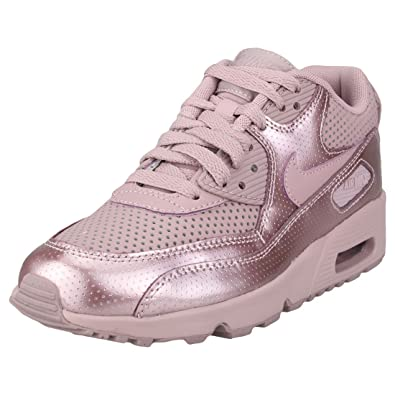 8231279c3cb6 Nike Youth Air Max 90 SE LTR GS Leder Trainer  Amazon.de  Schuhe ...