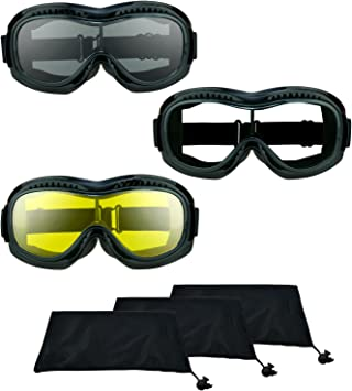 Z87 Motorcycle Fit Over Glasses Safety Clear Yellow Cover Over Goggles