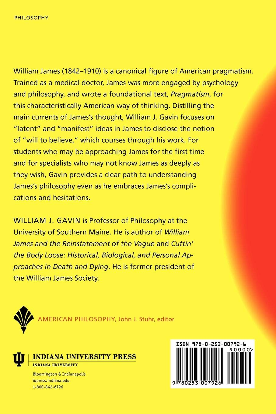 William James in Focus: Willing to Believe (American