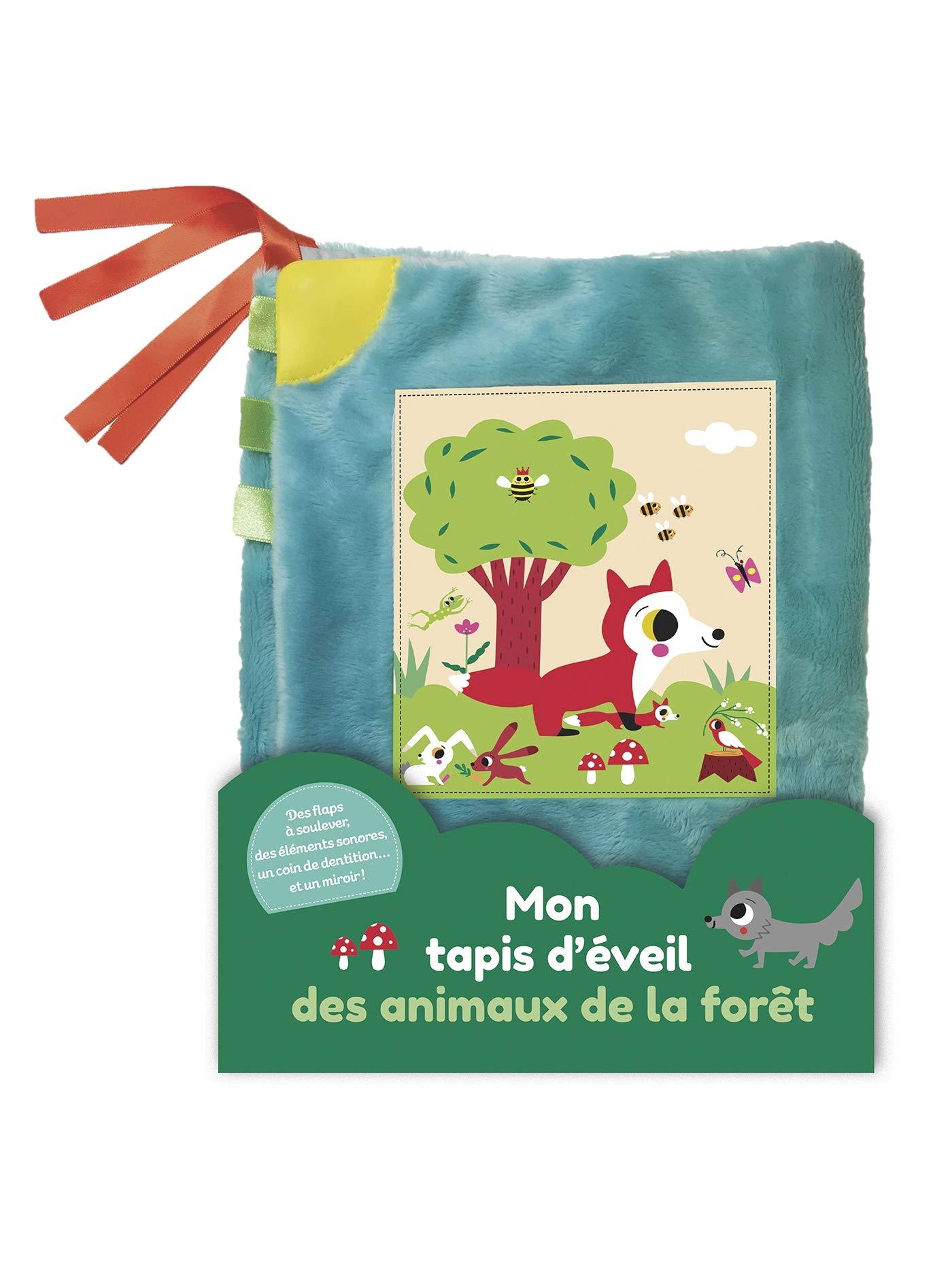 Mon Tapis D Eveil Des Animaux De La Foret Livre Tissu French