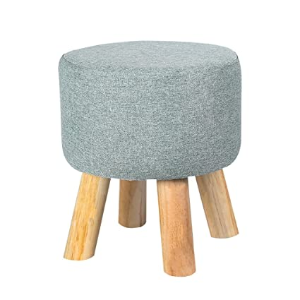 Amazon.com: TangMengYun Modern Solid Wood Stool, Removable ...