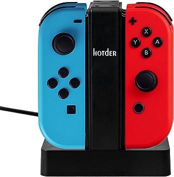 Estación de Carga 4 en 1 para los Joy-Con (mandos) de Nintendo ...