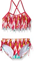 Kanu Surf Girls' Kelly Fringe Bikini Swimsuit