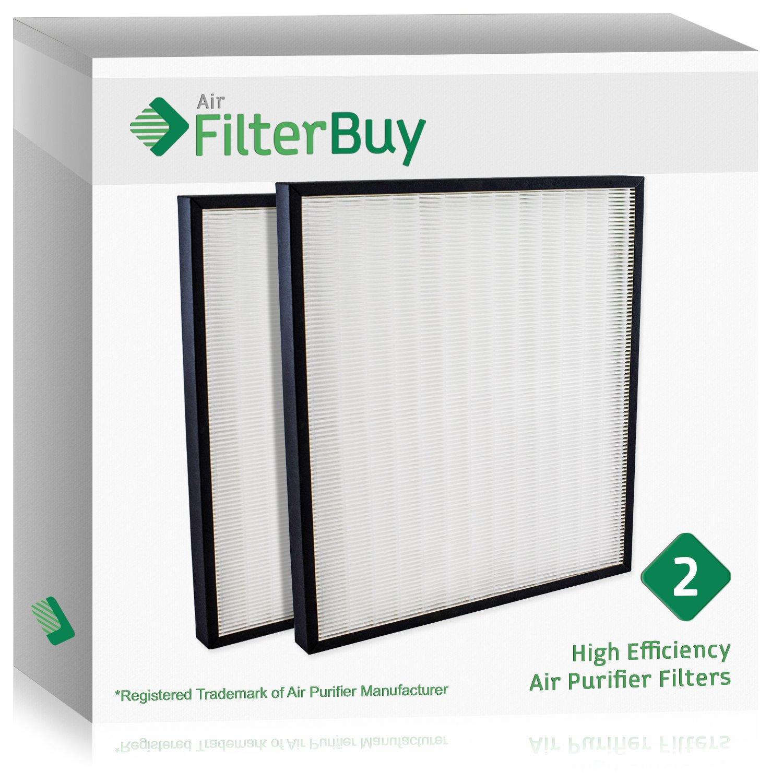 2 – FilterBuyハンター30940交換フィルター。Designed by FilterBuy toフィットハンター空気清浄機シリーズ30210、30214、30215、30216、30225、30260、30398、30400 & 30401。 B077XJMN52