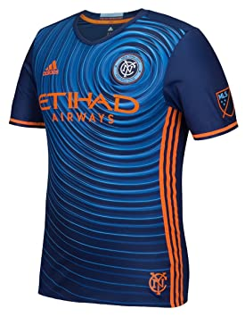 66ded7685d448 adidas Mens Gents Football New York City FC Authentic Away Shirt 2016  Jersey - M