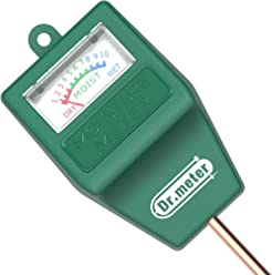 Dr.meter S10 Soil Moisture Sensor Meter Hygrometer-Garden,Farm,Lawn,