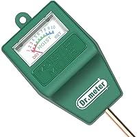 [Soil Moisture Meter] Dr.meter Hygrometer Moisture Sensor for Garden, Farm, Lawn Plants Indoor & Outdoor (No Battery needed)