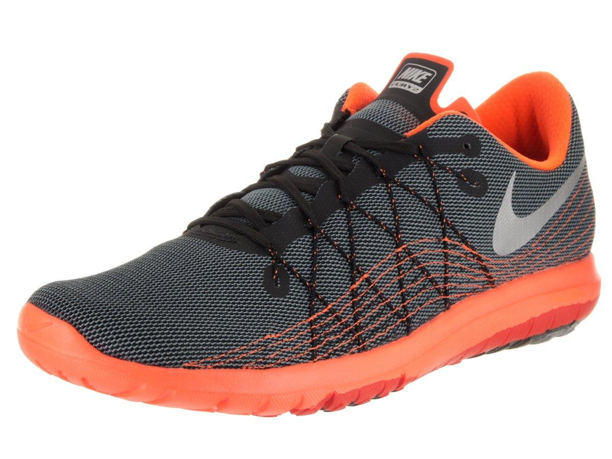 4413bcc188c7 Galleon - Nike Men s Flex Fury 2 Black Metallic Silver Running Shoe 9.5 Men  US
