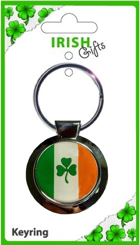 速くおよび自由な Ireland Flag Metal Tricolour Green Shamrock Shamrock Round Metal Keyring Ireland B00831UOQ8, ベストスリング:a749c682 --- arianechie.dominiotemporario.com