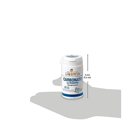 Ana Maria Lajusticia - Carbonato de magnesio – 75 comp. Disminuye el cansancio y la fatiga, mejora el funcionamiento del sistema nervioso. Apto para ...