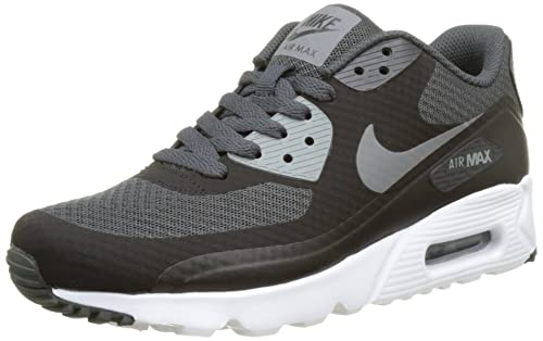 finest selection f0864 25996 Nike Air MAX 90 Ultra Essential, Zapatillas de Running para Hombre, Negro ( Black Cool Grey-Anthracite-White), 40 EU  Amazon.es  Zapatos y complementos