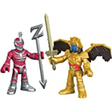 Fisher-Price – Imaginext – Power Rangers : Mighty Morphin – Goldar & Seigneur Zedd – 2 Mini Figurines