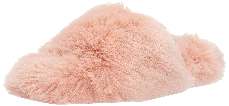 Mae Women's Fuzzy One Strap Slipper