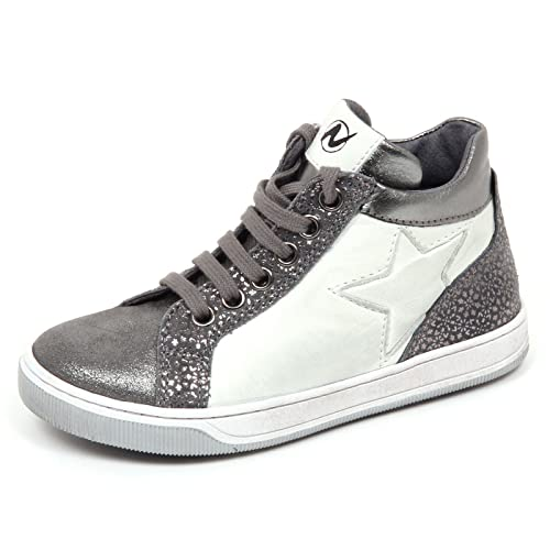 Girl Kid Shoe Sneaker Bimba E2754 Naturino BiancoGrigio Scarpe xST0znq