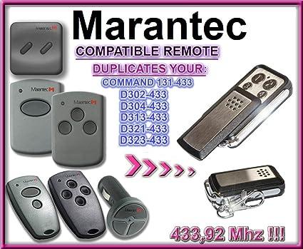 Marantec D323-433 / D302-433, D304-433 / D313-433, D321-433