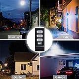 Dailyart 30W Solar Street Light 90 Led Solar Lights Outdoor IP65 Waterproof Solar Flood Light with Motion Sensor Dusk to Dawn Security Light for Yard, Garden, Street, Basketball