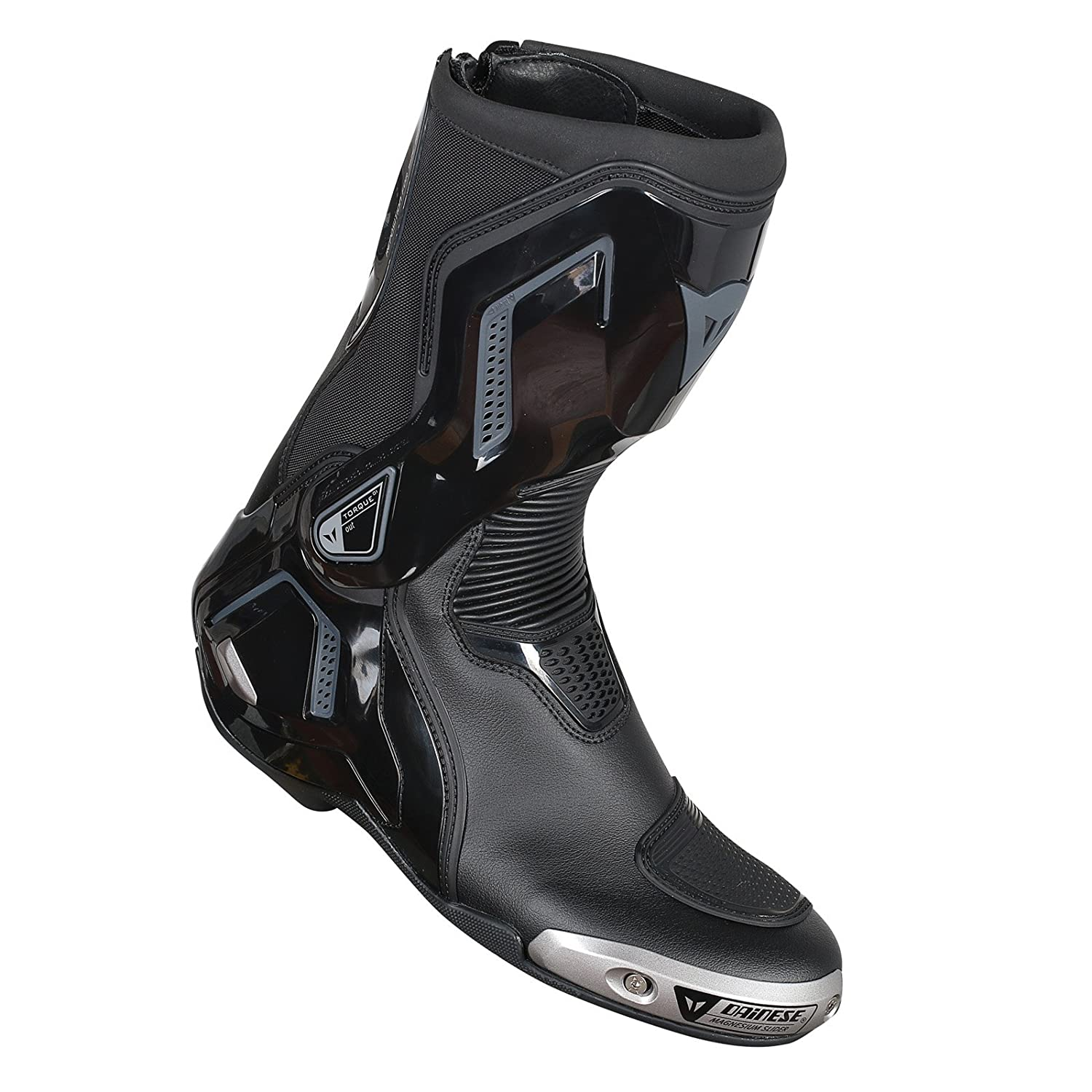 Dainese Torque D1 Out Boots (43) (BLACK/FLUORESCENT RED)