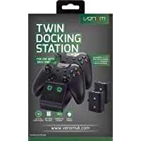 Venom Twin Docking Station for Xbox One with 2 x Rechargeable Battery Packs - Black