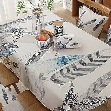 Lilili Tischdecke Aus Baumwolle Bettwasche Tischdecke Oval