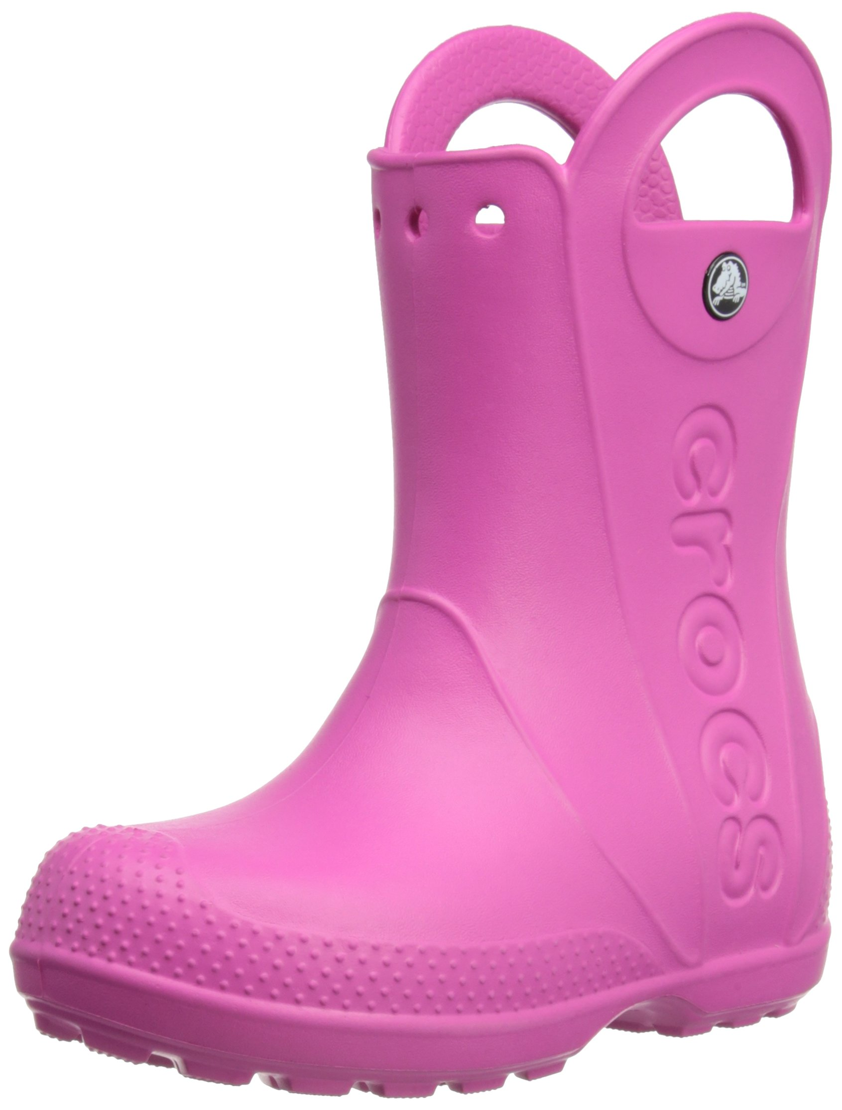 Crocs Kids' Handle It Boot,Fuchsia,1 M US Little Kid