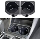 JDMCAR Replacement for Cup Holder Inserts 2005 - 2015 Toyota Tacoma Accessories , 2nd Gen Tacoma Durable Cup Holder Inserts (