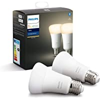 Philips Hue White Pack de 2 bombillas LED
