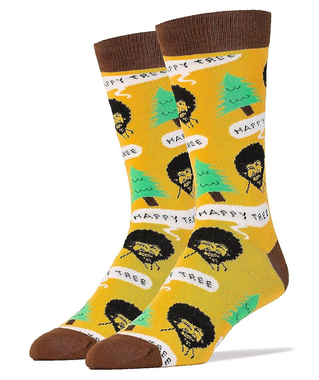 Bob Ross Happy Tree Women's Crew Socks Jy Designs WD5023C