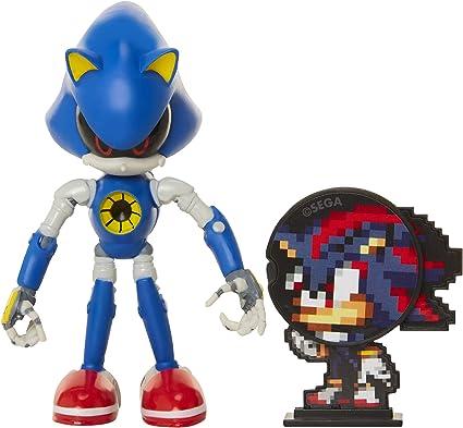 Amazon Com Sonic The Hedgehog Collectible Metal Sonic 4 Bendable