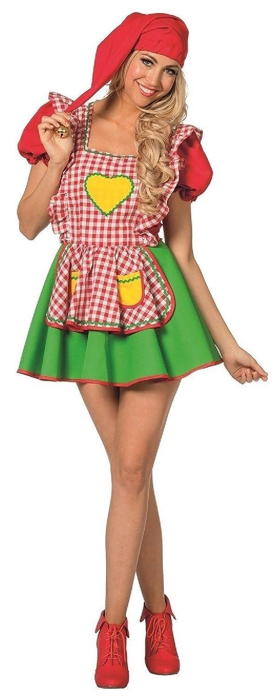 L3201010 rot-grün rot-grün rot-grün Damen Zwergen Kleid Wichtelmädchen 33ddcf