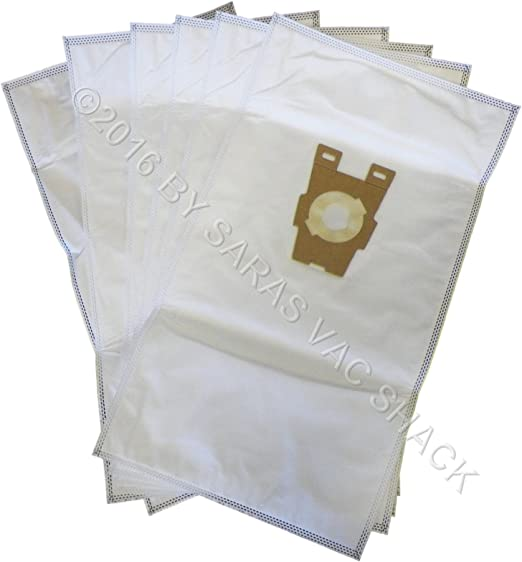 2 belts 6 UNIVERSAL /& F STYLE Cloth White Sentria 2 Kirby Micron Vacuum bags