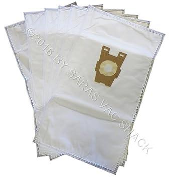 6 universal gamuza de HEPA bolsas de papel para aspiradora ...