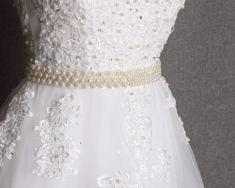 Amazon.com  Wedding pearl sash 46f13bd6c90a
