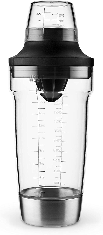 Host Cocktail Shaker set of 1, 18 oz, Multicolor