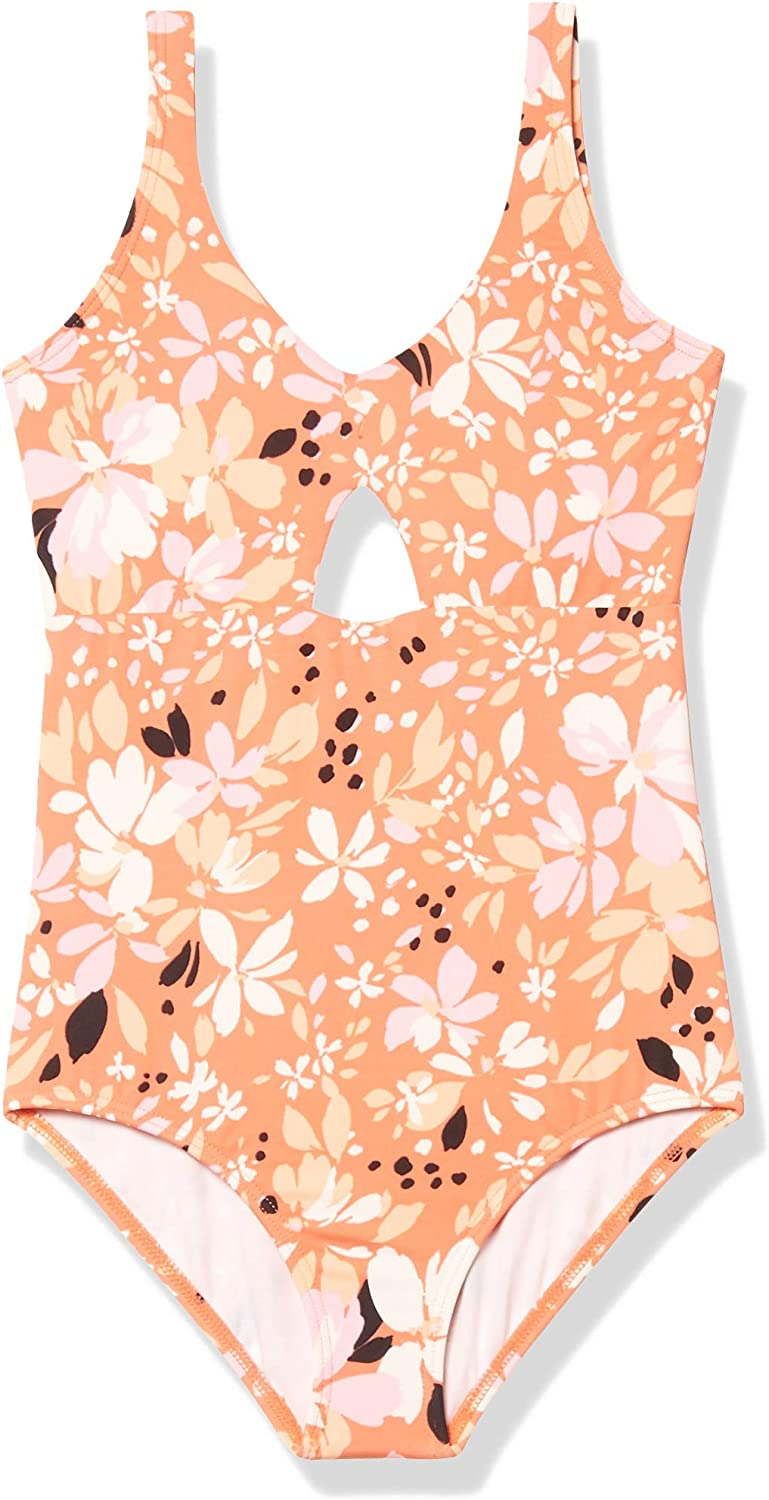 Billabong Girls' Animer and price revision Petal Party Swimsuit Piece Tampa Mall One