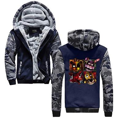 Aivosen Five Nights at FreddyS Chaquetas Hombres Sudaderas Grueso Chaqueta de Béisbol Casuales Abrigo Deportivo Hipster Jacket Coat: Amazon.es: Ropa y ...