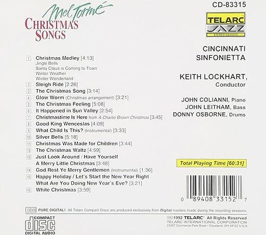 Mel Torm' - Christmas Songs - Amazon.com Music
