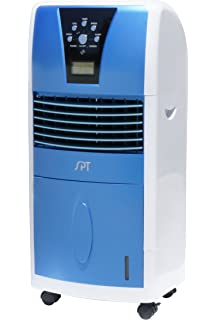 spt sf613 led evaporative air cooler with ionizer - Evaporative Air Cooler