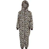 Camille Infantil Unisex Nieve Leopardo Todo en uno Pijama Onesie