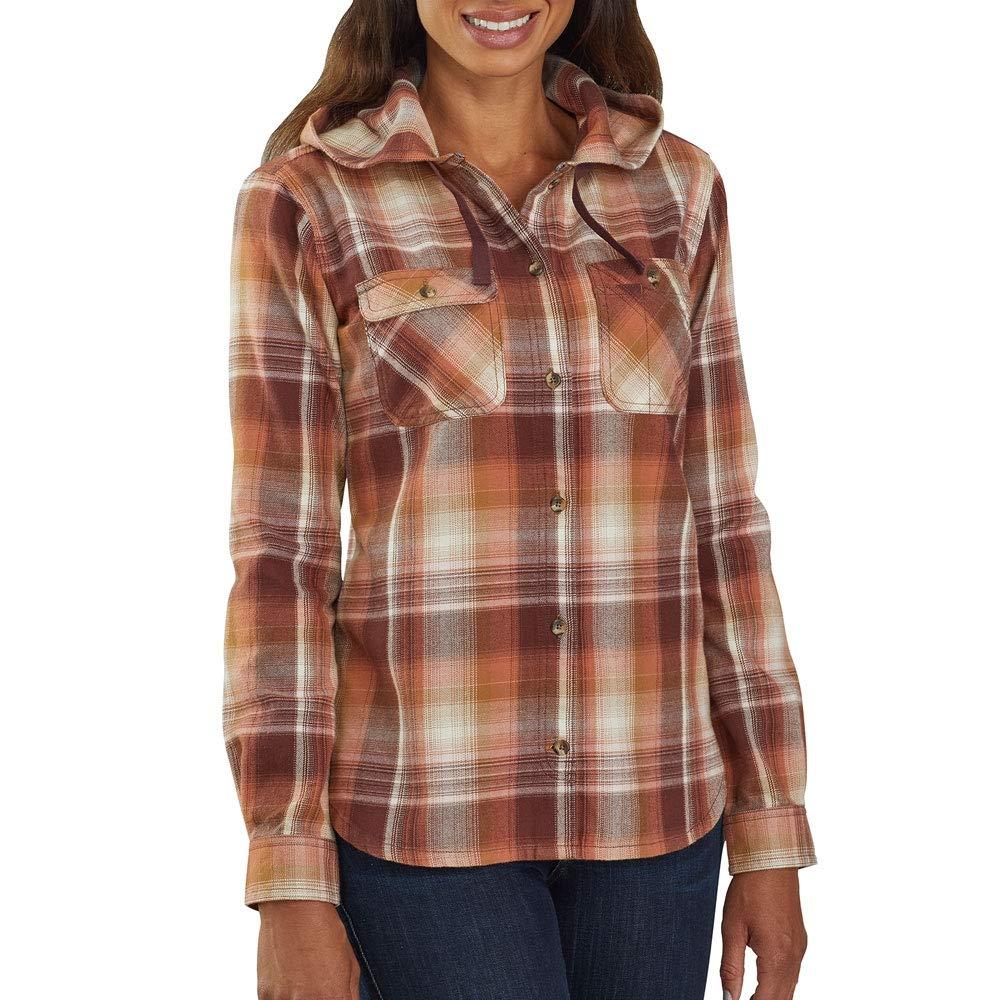 Hooded Flannel Shirt Carhartt Women's Beartooth hsrCBQdotx